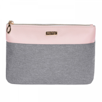 Cosmetic bag Grey salmon