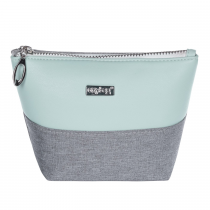 Cosmetic bag square Grey mentol