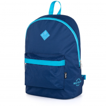 Student backpack OXY Street fashion dark blue