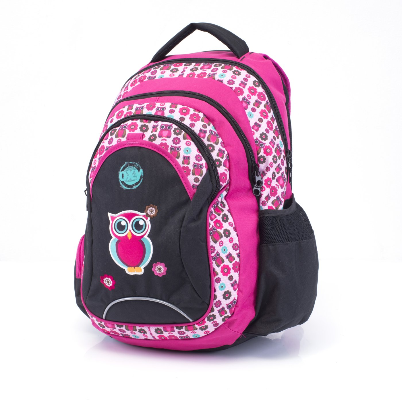 Student backpack OXY Fashion Pink Owl - Školní potřeby » OXY ... 9b166a2717