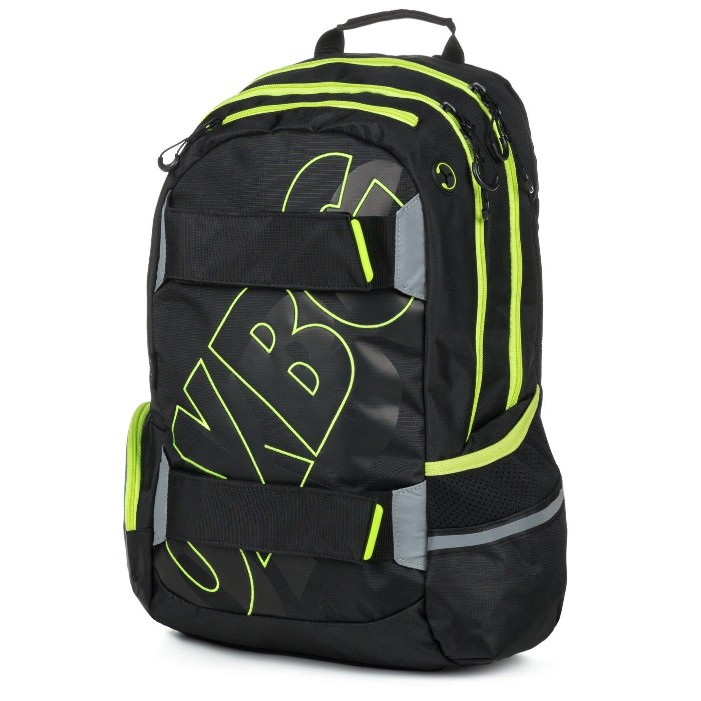 ... Studentský batoh OXY Sport BLACK LINE green Bez licence · Image b6940f531c